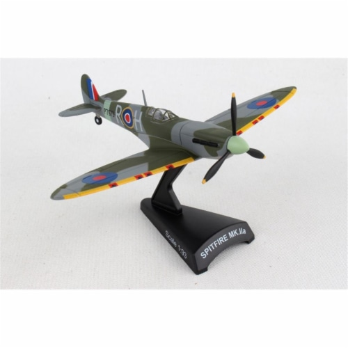 Postage Stamp Planes PS5335-4 1 by 93 Scale RAAF Spitfire Model Aircraft Perspective: front