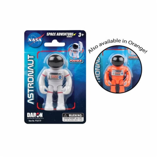 Daron Worldwide Trading PT63119 3 in. Space Adventure Astronaut Figure, Assoted Color Perspective: front