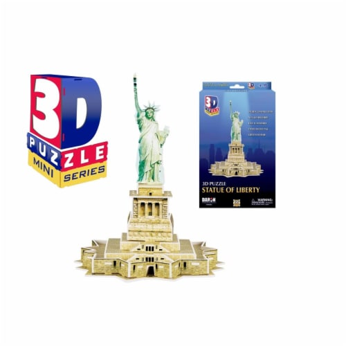 Daron Worldwide Trading CHB242 Mini Statue of Liberty 3D Puzzle - 22 Piece Perspective: front