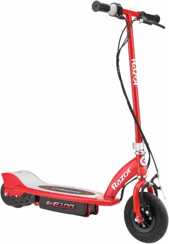 Razor E100 Electric Scooter - Red Perspective: front