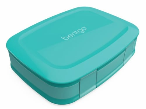 Bentgo Fresh Bento Box - Turquoise Perspective: front