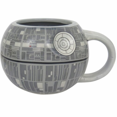 Star Wars Death Star Sculpted Ceramic Mug Perspective: front