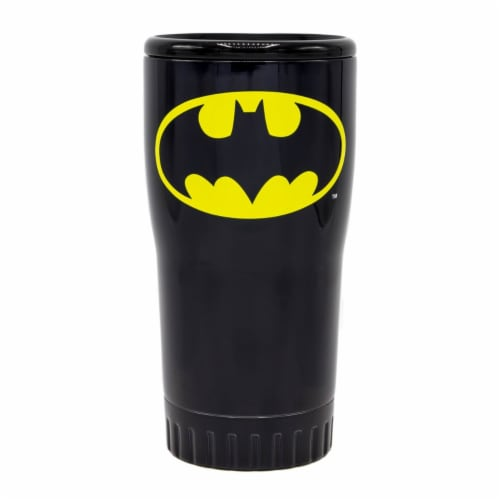 Silver Buffalo 20 oz Batman Steel Tumbler Perspective: front
