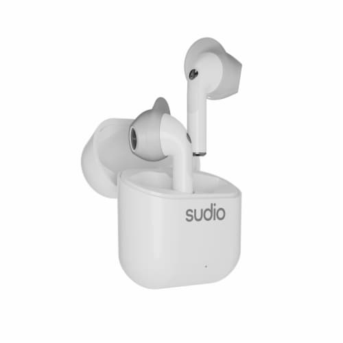Sudio Nio Open Fit Wireless Noise Cancelling Headset - White Perspective: front