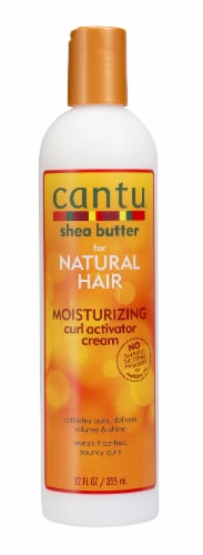 Cantu Shea Butter Moisturizing Curl Activator Cream Perspective: front