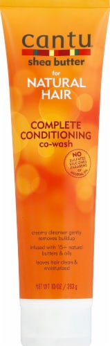 Cantu Complete Conditioning Co-Wash Perspective: front