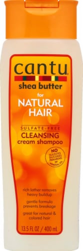 Cantu Sulfate Free Shea Butter Shampoo Perspective: front