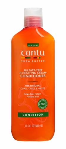 Cantu Shea Butter Natural Hair Hydrating Cream Conditioner Perspective: front