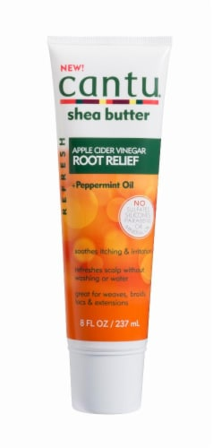 Cantu Shea Butter Apple Cider Vinegar Root Relief wth Peppermint Oil Perspective: front