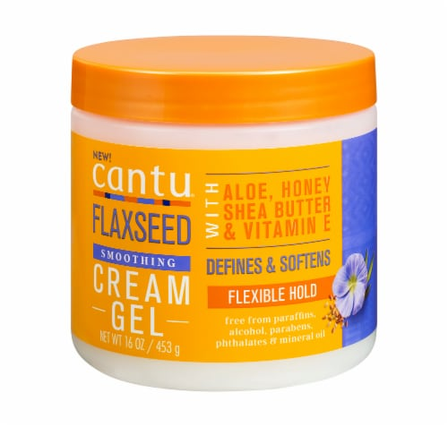 Cantu Flaxseed Cream Gel Perspective: front