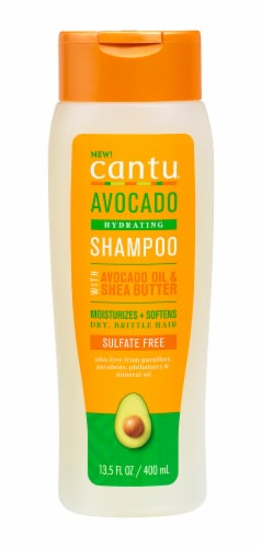 Cantu Avocado Hydrating Sulfate Free Shampoo Perspective: front