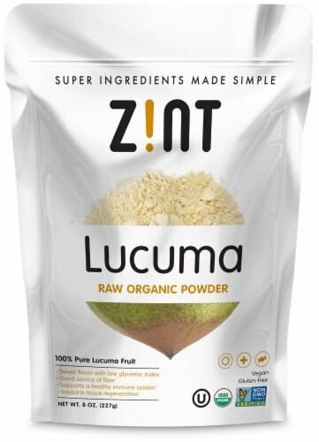 Zint  Lucuma Raw Organic Powder Perspective: front