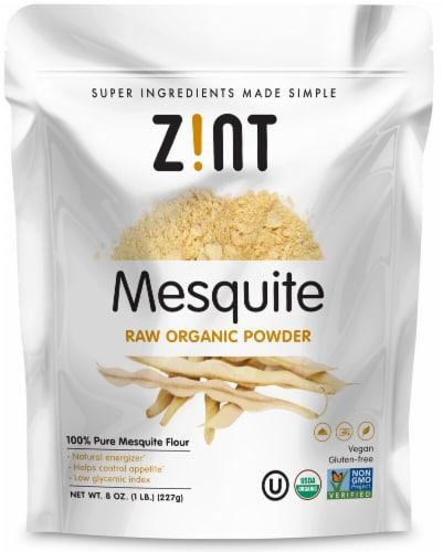 Zint  Mesquite Raw Organic Powder Perspective: front