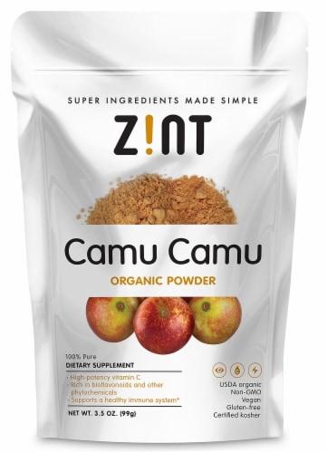 Zint  Camu Camu Raw Organic Powder Perspective: front
