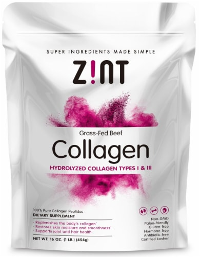 Zint  Beef Collagen Refill Perspective: front