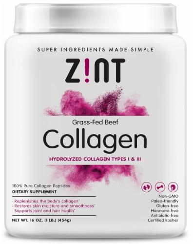 Zint  Beef Collagen Perspective: front