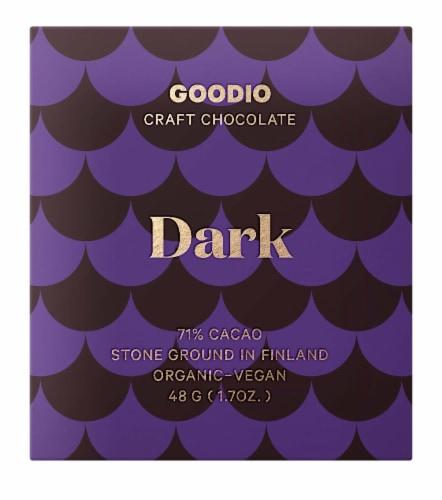 Goodio 77% Dark Chocolate Perspective: front