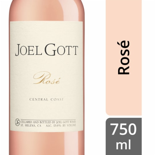 Joel Gott Central Coast Rose Wine Perspective: front