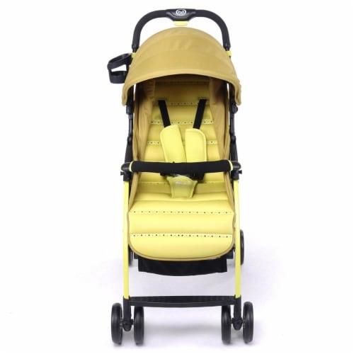 Pali 13901BRA Ultra Lightweight Tre.9 Stroller Fitness Fashion Brasil Green Perspective: front