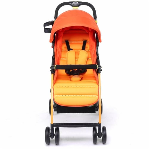 Pali 13901SAO Ultra Lightweight Tre.9 Stroller Fitness Fashion Sao Paolo Orange Perspective: front