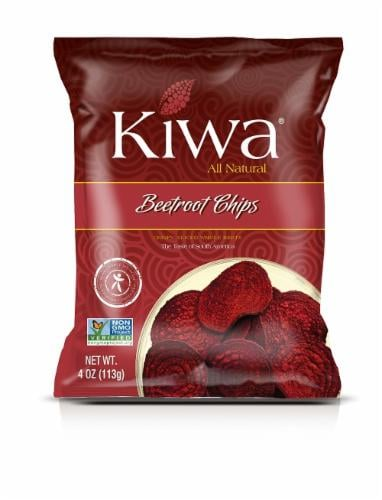KIWA Beetroot Chips Perspective: front