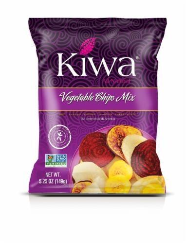 Kiwa Original Vegetable Mix Chips Perspective: front