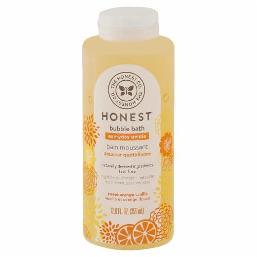 The Honest Company Sweet Orange Vanilla Bubble Bath Perspective: front
