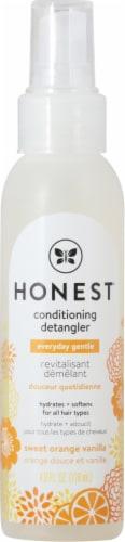 The Honest Co. Mist Orange Vanilla Conditioning Detangler Perspective: front