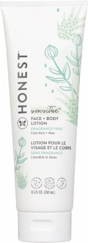The Honest Co. Purely Simple Face + Body Lotion Perspective: front