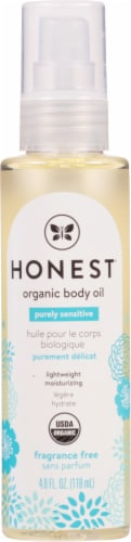 The Honest Co. Organic Body Oil Perspective: front