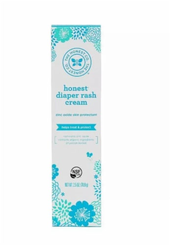 The Honest Co. Diaper Rash Cream Perspective: front