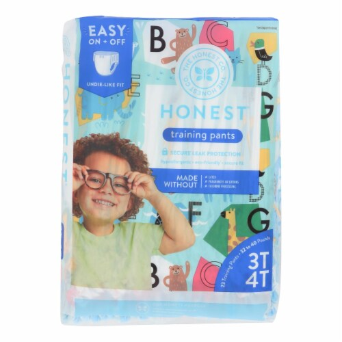 The Honest Company - Training Pants Abc 3t-4t - 1 Each - 23 CT Perspective: front