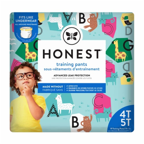 The Honest Co. Honest 4T-5T Training Pants Perspective: front