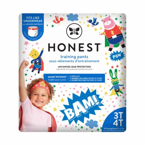 The Honest Co. Honest Hypoallergenic 3T-4T Training Pants Perspective: front