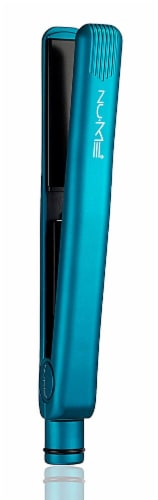 NuMe  Fashionista Straightener Professional Flat Iron  - Turquoise Perspective: front