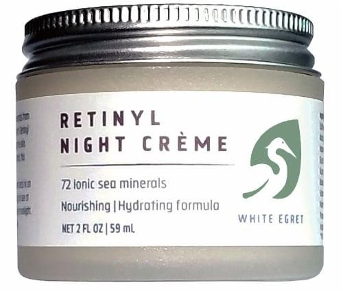 White Egret  Retinyl Night Creme Perspective: front