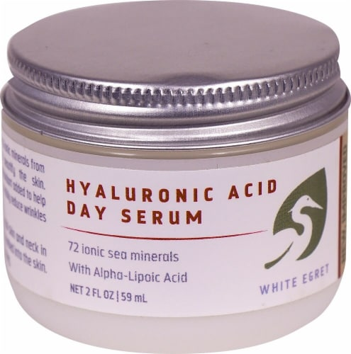 White Egret  Hyaluronic Acid Day Serum Perspective: front