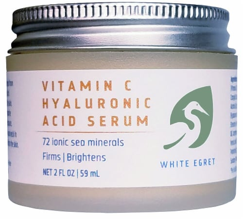 White Egret  Vitamin C Hyaluronic Acid Serum Perspective: front