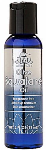 White Egret Olive Squalane Oil Perspective: front