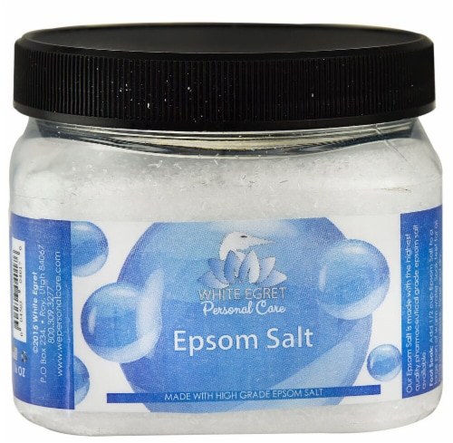 White Egret Personal Care Epsom Salt Unscented Perspective: front