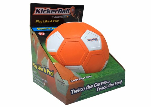 Kickerball® Curve and Swerve Soccer Ball Perspective: front