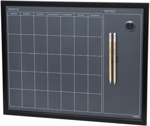 U Brands Wood Frame Chalkboard - Black Perspective: front