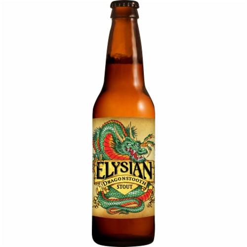 Elysian Brewing Company Dragonstooth Stout Beer Perspective: front