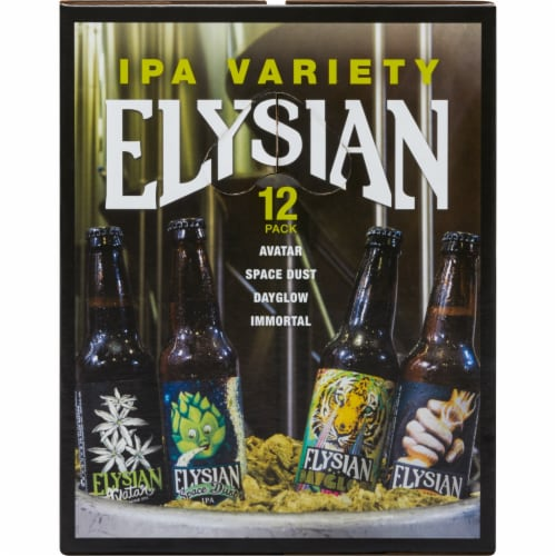 Elysian Brewing Company Variety Pack Perspective: front