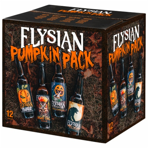Elysian Brewing Company Pumpkin Beer Variety Pack Perspective: front