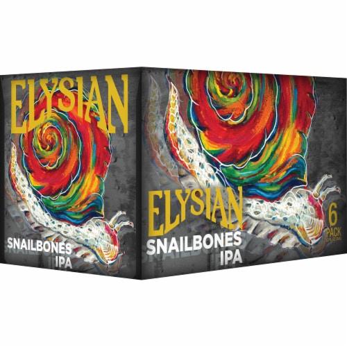 Elysian Brewing Snailbones IPA Perspective: front
