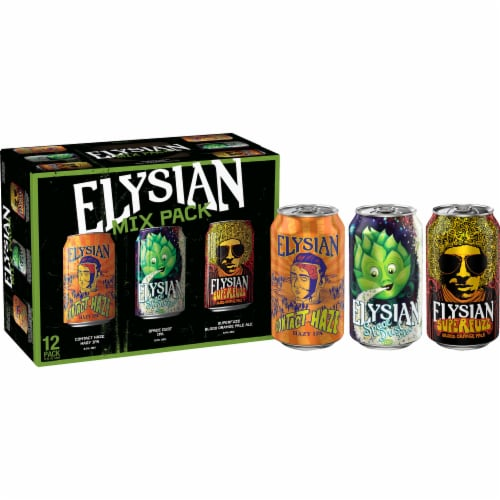 Elysian Brewing Mix Pack Perspective: front
