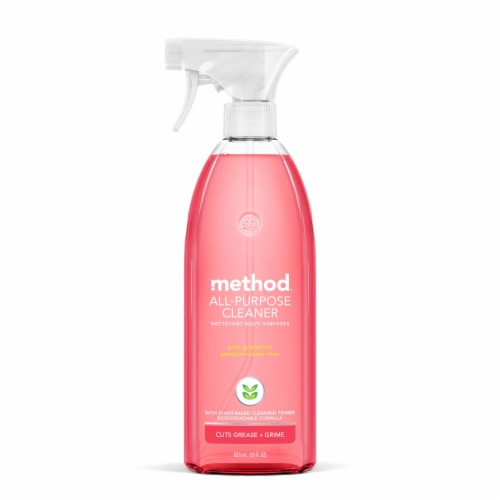 Method Pink Grapefruit All-Purpose Cleaning Spray Perspective: front