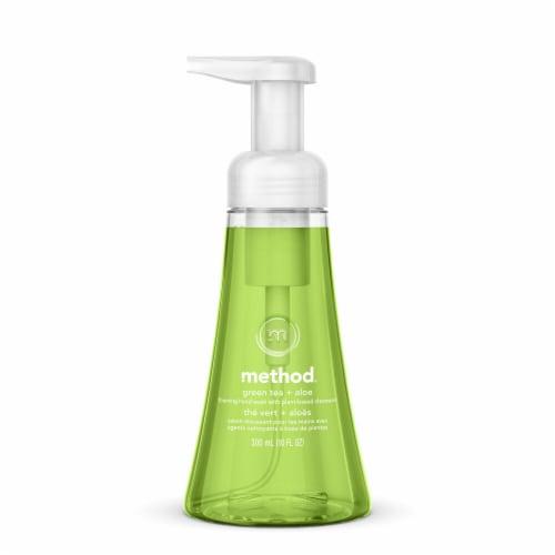 Method Green Tea & Aloe Foaming Hand Wash Perspective: front