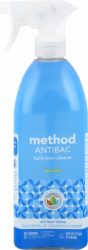 Method Antibac Spearmint Bathroom Cleaner Perspective: front